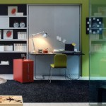 Home too small? Office, bedroom, all in one space…