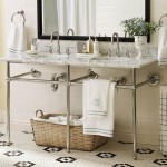 Organization and style in the bathroom