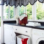 Laundry rooms – tucked away in small spaces