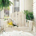 Porch swings  – Enjoy the outdoors