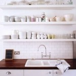 Organization – Open shelving – keep it looking great!