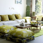 Home Decor: Floor Pillow Inspiration Ideas