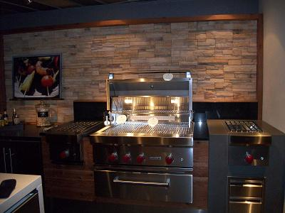living kitchen wolf grill 5