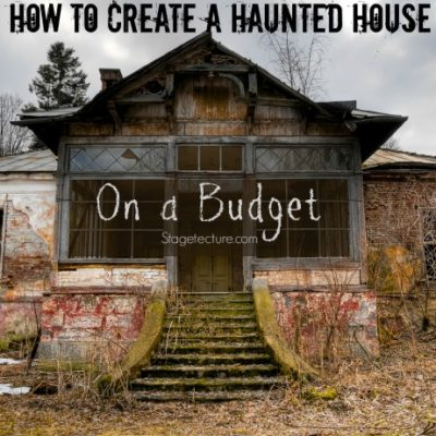 How to Decorate your Haunted House for Halloween on a Budget