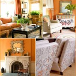 Home Decor: Pumpkin Orange Fall Inspiration for your Home