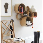 How to Turn Hardware Store Items into Organizational Decor