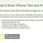 How to Boost your Productivity: 'Get it Done' iPhone App