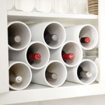 DIY Wine Rack from Martha &#8211; Great Hardware Store Project