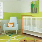 Home Decor: Modern Spring Colored Nursery Inspiration