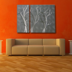 Guest Blogger: Using Abstract Metal Wall Art in your Modern Decor