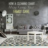cleaning checklist black white interiors