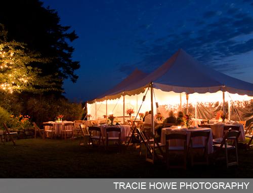 outdoor fairy tale wedding