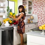House Tour: Kerry Washington's Green Apartment Makeover