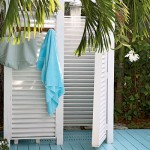 Outdoor Home: Pool Shower Inspiration Ideas