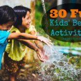 30 Fun Beach Activities for Kids this Summer Vacation