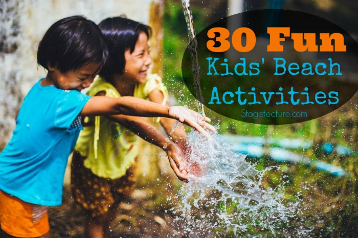 kids beach activities