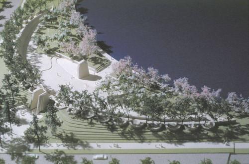 MLK aerial view