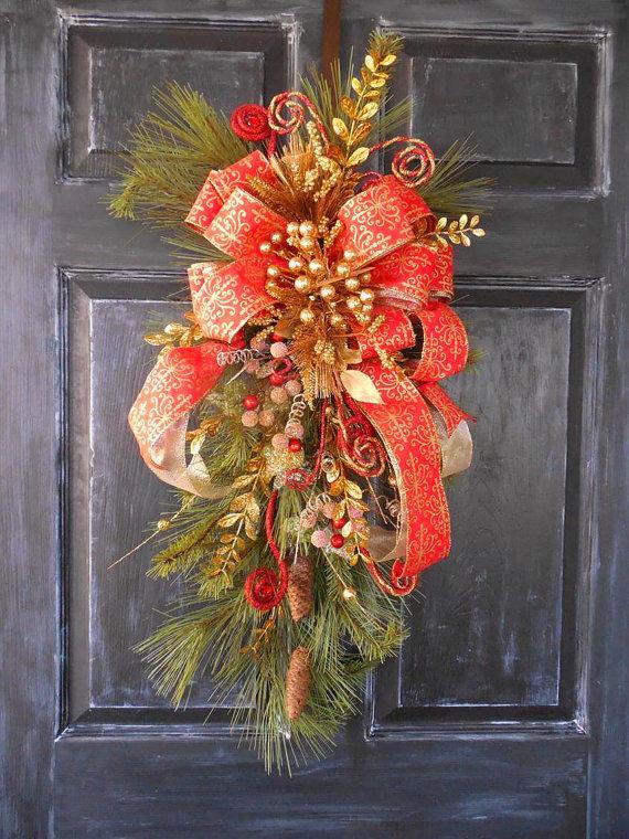 christmas-swag-wreath-ideas