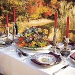 How to Create a Natural Thanksgiving Table Centerpiece in Minutes