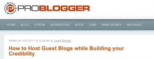 Problogger 2
