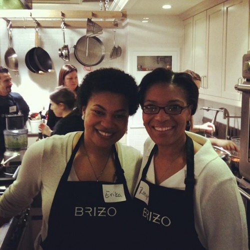Erika Ronique Cooking Class