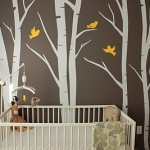 Brightening your Baby's Nursery with Dark Colored Walls