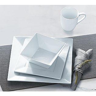 sandra lee porcelain dinnerware