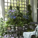 Using Decorative Topiary Plants in Outdoor Entertaining Areas