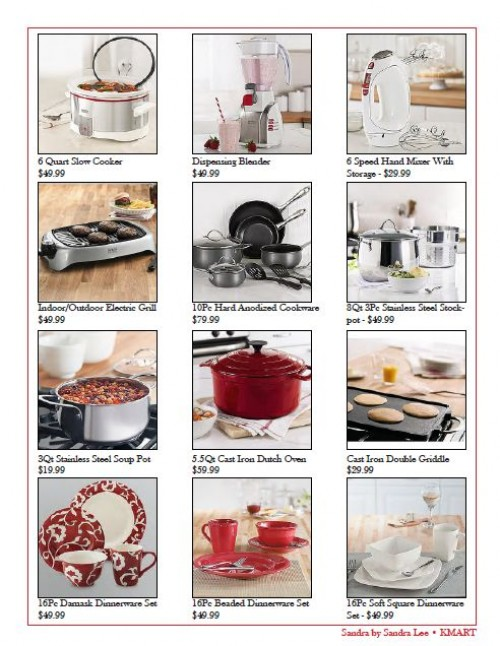 Kmart_Sears product lists