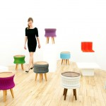 Fashion for Furniture: Cutting Edge Pleat Furniture Collection