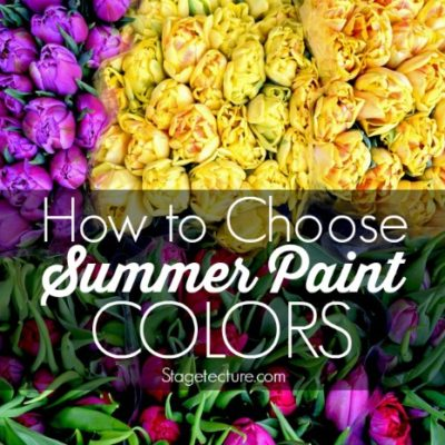 Choosing a Summer Paint Colors Theme for your Home