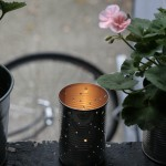 Summer Weekend DIY Craft: Illuminating Tin Candle Holder