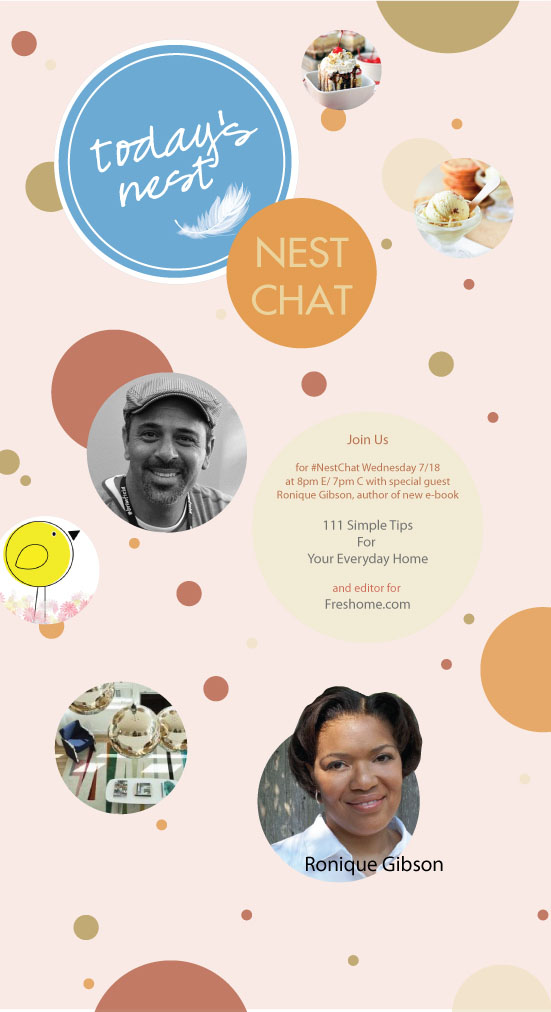 Excited to Guest Co-Host on Twitter – #NestChat for Today's Nest – 7/18