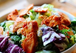 Hearty Summer Buffalo Chicken Salad Recipe