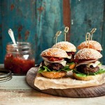 The Perfect Cedar Planked Hamburgers Recipe