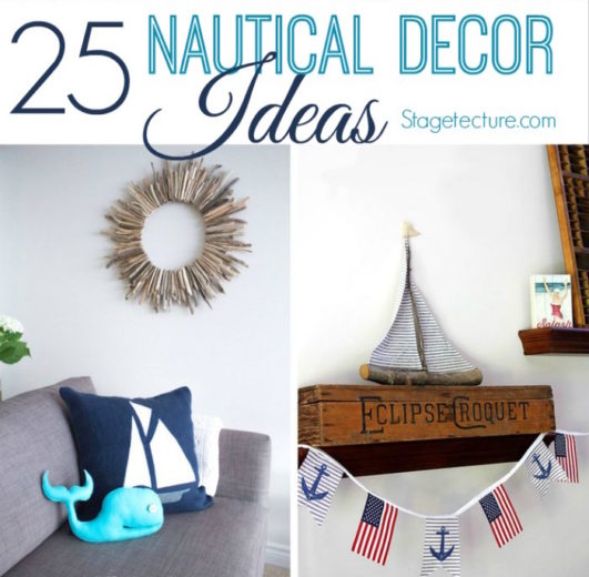 Home Design Ideas Facebook: 25 Nautical Decor Ideas For Your Creative Home
