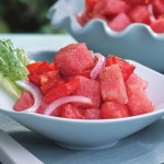 Refreshing Summer Tomato and Watermelon Salad Recipe