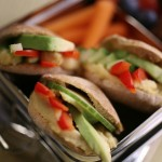Healthy Veggie-Stack Pita Pockets Recipe Perfect for On-the-Go