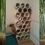 Weekend DIY Project: Easy PVC Shoe Rack