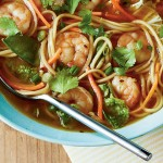 Asian-Inspired Spicy Shrimp Noodle Bowl Recipe