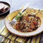 Summer Toasted Barley and Chicken Pilaf Recipe
