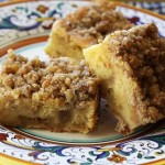 Autumn Apple Crumb Squares Recipe
