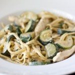 The Perfect End of Summer Chicken & Zucchini Alfredo Recipe