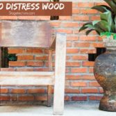 distressed wood furniture