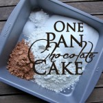 Sunday Kitchen Idea: One Pan Chocolate Cake Recipe
