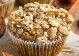 Quick Weekend Snack: Crumb Cake Muffins Recipe