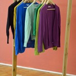 Rustic DIY Clothing Rack for your Bedroom Closet