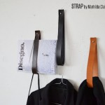 Weekend Project: Minimalist DIY Leather Strap Wall Hangers