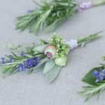 DIY Wedding Idea &#8211; Fragrant Herb Boutonnieres