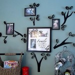 DIY Saturday #120 – Creating a 'Family Tree' for Displaying Family Photos